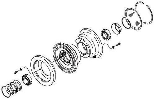 Cleveland Wheel & Brake 40-131 Wheel Assembly