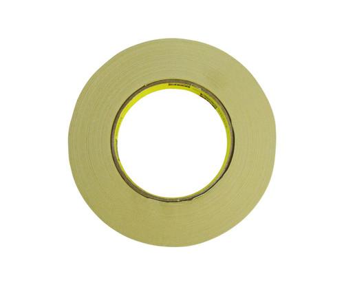 3M™ 021200-03776 Scotch® 231/231A Tan 7.6 Mil Paint Masking Tape - 18 mm x 55 m Roll