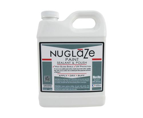 Nuvite PC22751QT NuGlaze PolyFluoro Sealant Aircraft Paint Glosser & UV Protectant - Quart Jug