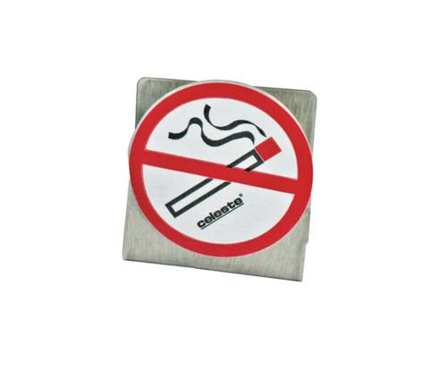 "Celeste® SD-BRACKETNS Adhesive Backed ""No Smoking"" Labeled Deodorant Disc Bracket"