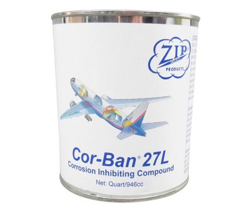Zip Chem 009405 Cor-Ban 27L Corrosion Inhibiting Compound - Quart Can