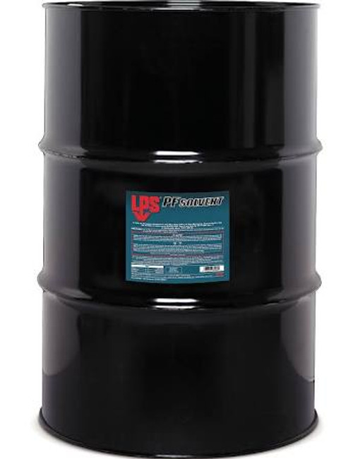 LPS 3® 61456 PF Solvent Clear/White Penetrating Degreaser - 55 Gallon Steel Drum