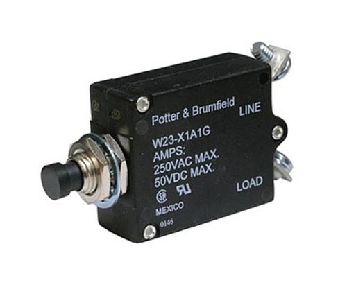 Potter & Brumfield W23-X1A1G-40 Push/Pull Circuit Breaker - 40 AMP