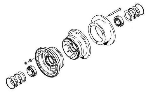 Cleveland Wheel & Brake 40-414A Wheel Assembly