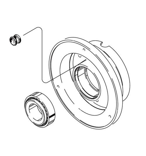 Cleveland Wheel & Brake 162-05300 Outer Wheel Half Aseembly