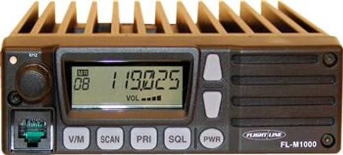 FlightLine FL-M1000AB VHF 118.0 - 136.975 MHz Air Band 760 Channel Land Mobile Radio