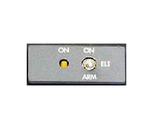 Artex 455-9702 NVG Gray Remote ELT Switch Panel - ITAR