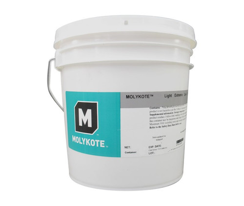 Dupont™ 4016012 MOLYKOTE® 33 Light Off-White Extreme Low Temperature Grease - 3.6 Kg (8 lb) Pail