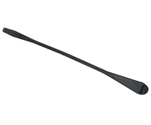 "PPG Aerospace® Semco® 231349 Black 9.37"" Double Head (0.59"" & 0.37"") Plastic Sealant Smoothing Spatula"