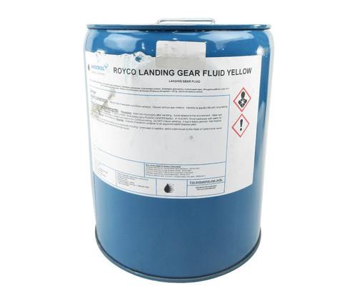ROYCO® LGF Yellow BMS3-32C Type 2 Spec Landing Gear Fluid - 5 Gallon Steel Pail