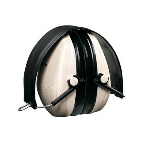 3M™ H6F/V PELTOR™ Optime™ 95 Beige/Black 21 db Over-the-Head Folding Earmuff
