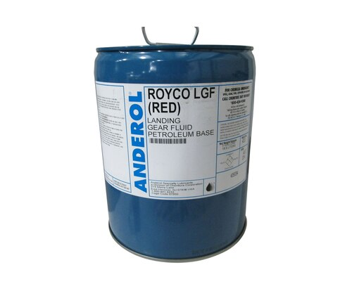 ROYCO® LGF Red Landing Gear Fluid - 5 Gallon Steel Pail