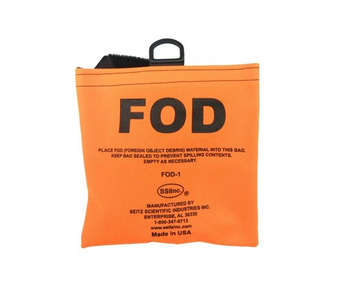 """Seitz Scientific FOD-1 Fluorescent Orange FOD Bag with 58"""" Belt"""