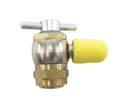 "Schrader 2755 High Pressure Strut Coupler - 3/8""-24 Thread for 3/16"" Fitting"