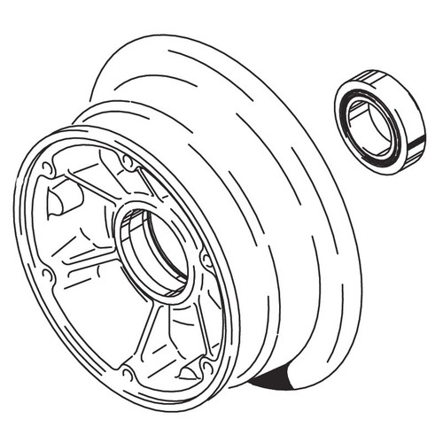 Cleveland Wheel & Brake 162-10700 Outer Wheel Half Assembly