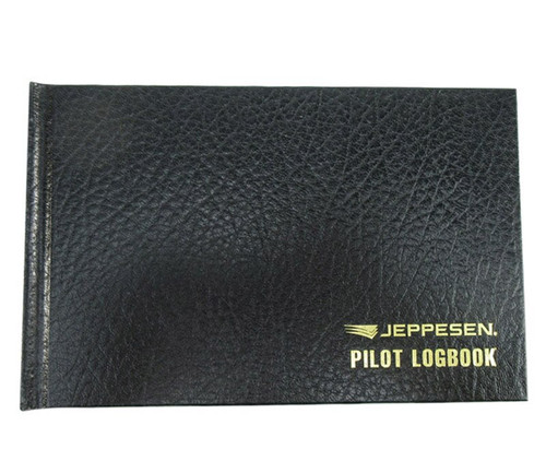Jeppesen 10001315 Black Hardcover Private Pilot Logbook