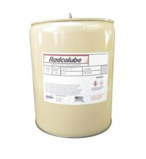 RADCOLUBE® FR257 Red MIL-PRF-87257C Spec Fire-Resistant Synthetic Low Temperature Hydraulic Fluid - 5 Gallon Pail