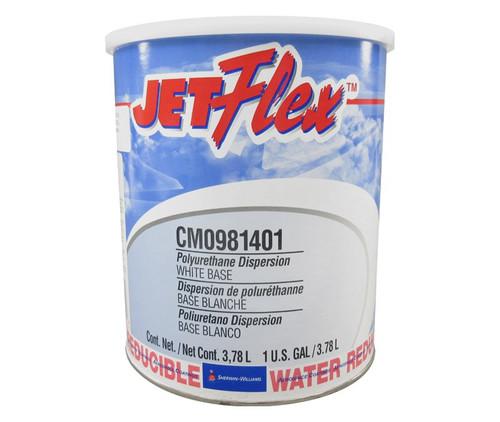 Sherwin-Williams® CM0981401 JetFlex® White Water Reducible Polyurethane Aircraft Interior Finish Coating - Gallon Can