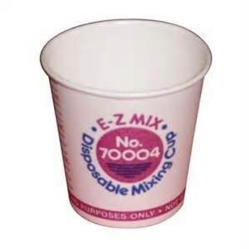 E-Z MIX 70004 Paper 1/4-Pint Disposable Graduated Display Paint Mixing Cup - 400 Cup/Box