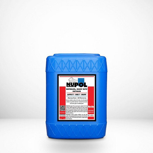 Nuvite PC22055 NuPol Heavy-Duty Drywash/Polish Cleaner with U/V Protectant - 5 Gallon Pail