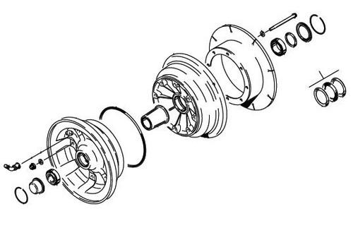 Cleveland Wheel & Brake 40-107A Wheel Assembly