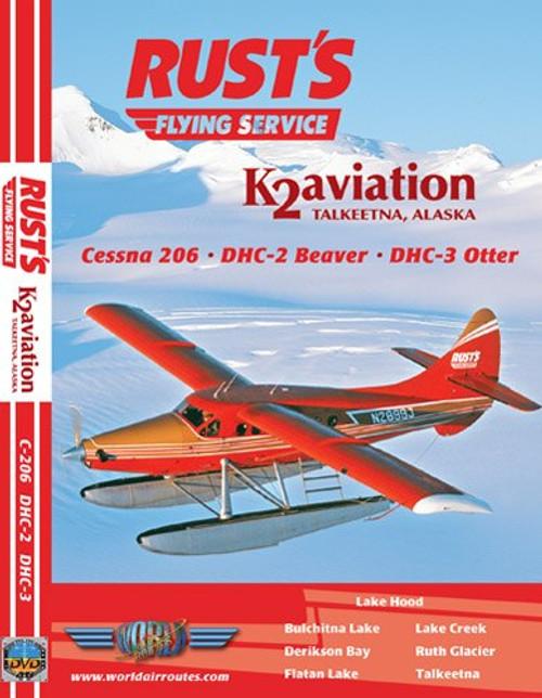 Just Planes Videos Rust's Flying Service & K2 Aviation DVD