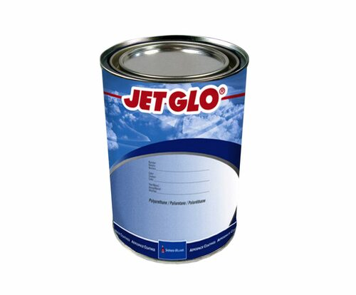 Sherwin-Williams® CM0570545 JET GLO® Vestal White Polyester Urethane Topcoat Paint - Gallon Can