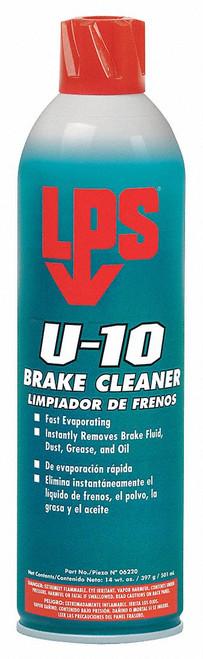 LPS® 06220 U-10 Brake Cleaner - 14 oz Aerosol Can