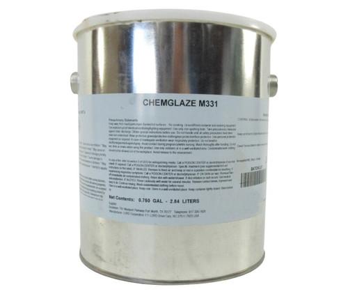 CHEMGLAZE® M331 Part-A Black Polyurethane Anti-Erosion Coating - Gallon Can