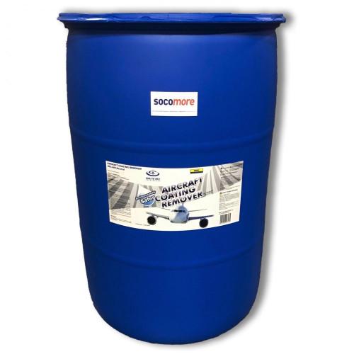 Sea To Sky™ SPC-909N Blue Hydrogen Peroxide Gel Paint Stripper - 190 Liter (50 Gallon) Drum