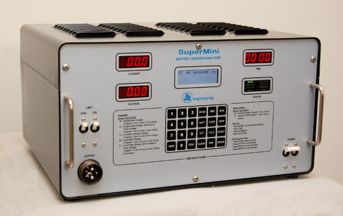 JFM 9899602001 SuperMini Intelligent Battery Charger-Analyzer for Battery Systems ( Up to 40 A-hr )