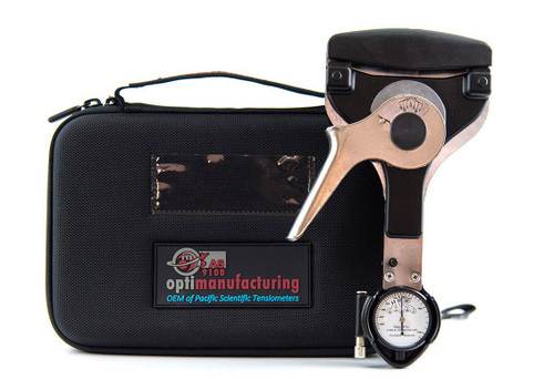 Pacific Scientific T60-1002-C8-00 Black Dial Indicating 3CWT to 45CWT & 10-200 lbs Cable Tensiometer