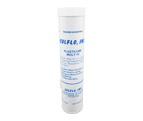 SULFO Plastilube Moly 3 High-Temperature Grease - 14 oz Cartridge