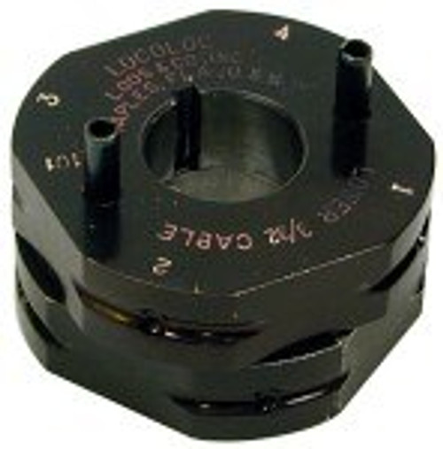 """Loos & Co M1-B4 Shank-Type Ball Terminal Roll Assembly(for 1/8"""" cable)"""