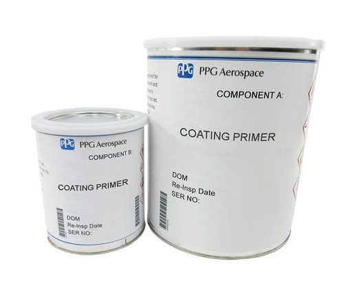 PPG Aerospace® Deft® 44W007/44W007CAT FS#27722 White MIL-DTL-53030C Type I Spec Non-Chrome Water Reducible Epoxy Primer (CARC) - Gallon Kit