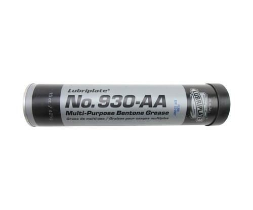 LUBRIPLATE® L0096-098 No. 930-AA White NLGI Grade 1 High-Temperature Multi-Purpose Grease - 14.5 oz (411 Gram) Cartridge