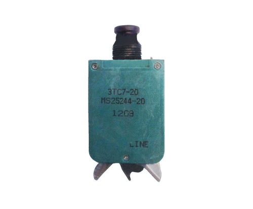 KLIXON® 3TC7-20 Circuit Breaker - 20 AMP