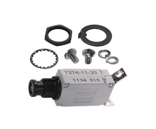 KLIXON® 7274-11-20 Circuit Breaker - 20 AMP