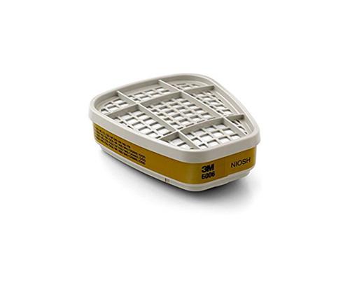 3M™ 051138-21674 Organic Vapor Cartridge 6001 - Pack of 2
