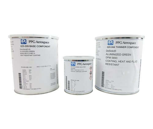 PPG Aerospace® DeSoto® 825-009 BAC 5710 Aluminized Green Type 51 Spec High Temperature Urethane Primer - Gallon Kit
