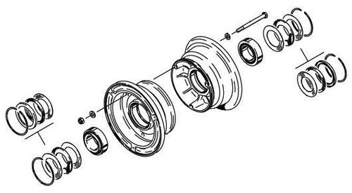 Cleveland Wheel & Brake 40-56B Wheel Assembly