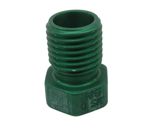 Military Standard MS21913D3 Aluminum Plug, Tube Fitting, Threaded