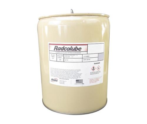 RADCOLUBE® RHP6083 Red MIL-PRF-6083G Spec Rust-Inhibited Petroleum Base Hydraulic Fluid - 5 Gallon Pail