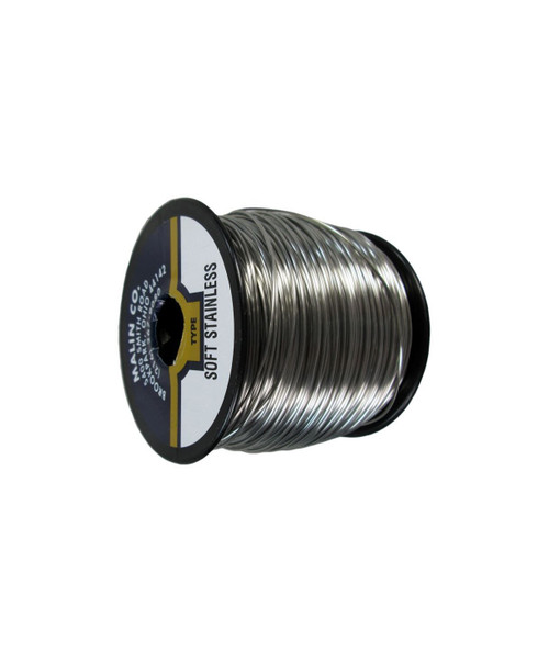 """Military Standard MS20995C40 Stainless Steel 0.040"""" Diameter Safety Wire - 5 lb Spool"""