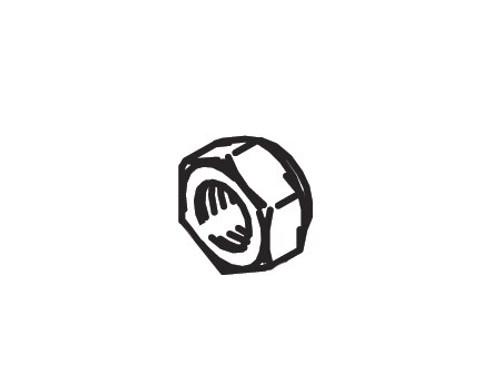 Cleveland Wheel & Brake 094-15100 Nut