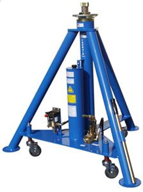 Tronair® 02A1248C0112 Blue Hydraulic Nose Jack with Air Pump (12 ton/10.8 metric ton) with air pump (CE)