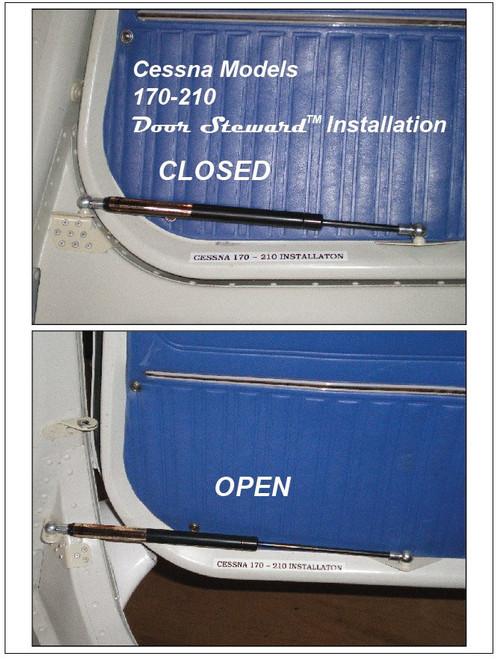 Door Steward 200C10 Cessna 170 thru 210 Cabin Door Installation Pair (one each -1 & -2)