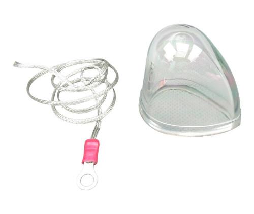 WHELEN® 02-0350033-00 Model A428C RFI Shielded Clear Lens