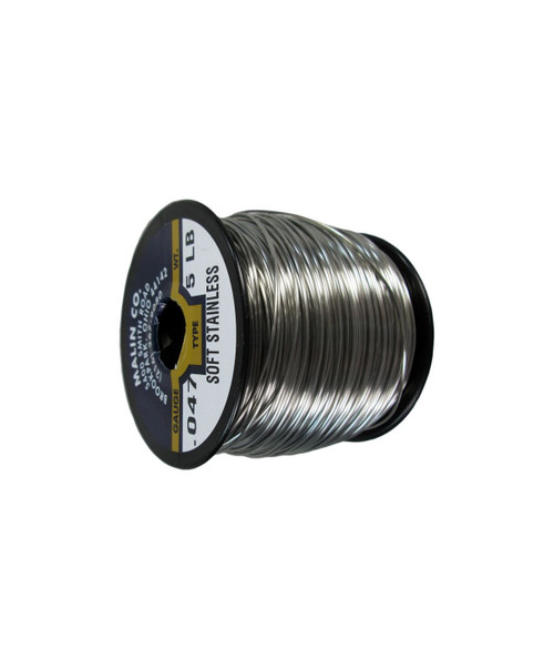"""Military Standard MS20995C47 Stainless Steel 0.047"""" Diameter Safety Wire - 5 lb Spool"""