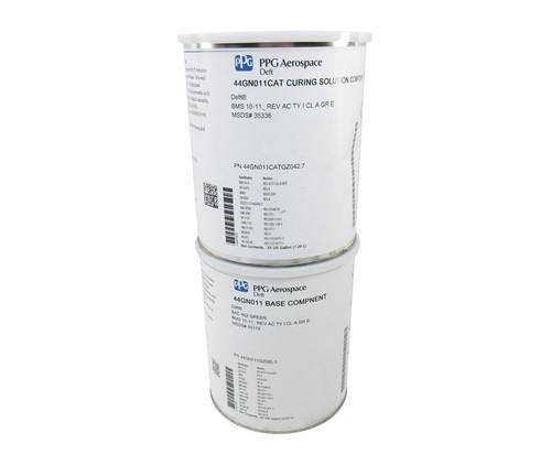 PPG Aerospace® Deft® 44-GN-011 BAC 452 Green BMS 10-11AC Type I, Class A Grade E Spec Water Reducible Epoxy Primer - 2:1 2/3 Full Gallon Kit